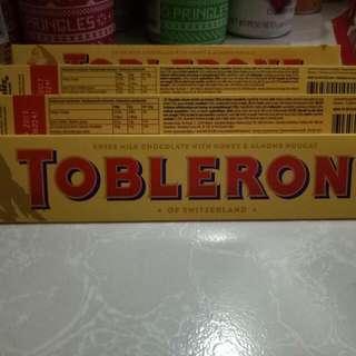 Toblerone 100g 90.00 - 100.00