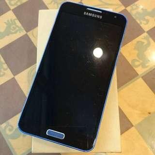 Samsung J 藍色,功能正常,盒裝齊全