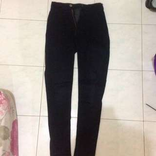 Jeans Punny Hitam