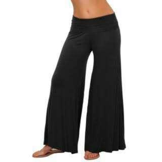 Plain Black pallazo Pants