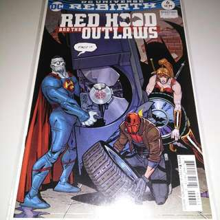 Red Hood and the Outlaws (Rebirth) #6