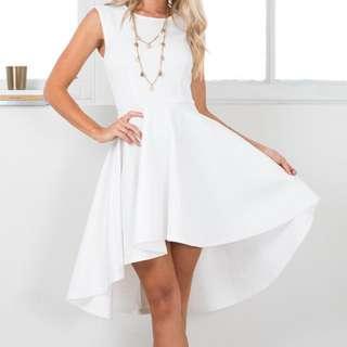 Showpo 'Hysteria' Dress In White