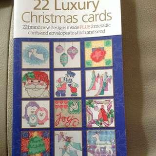 Cross Stitch Chart <Contemporary Christmas>
