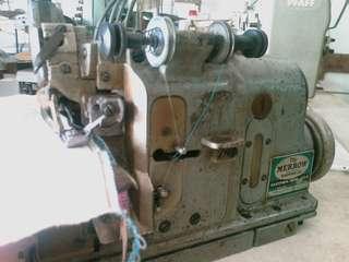 Sewing machine, patching machine