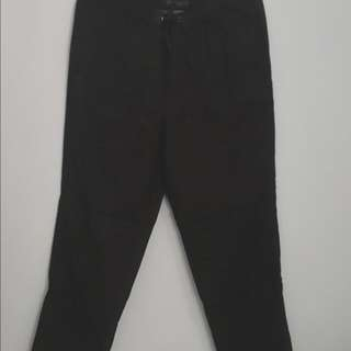 Marks and Spencer Black Baggy Pants