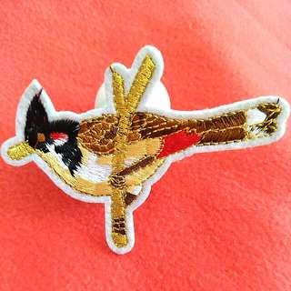 Bird lover collection iron on patch