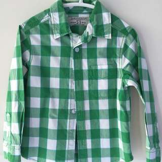 ZARA KIDS SHIRT SIZE 3
