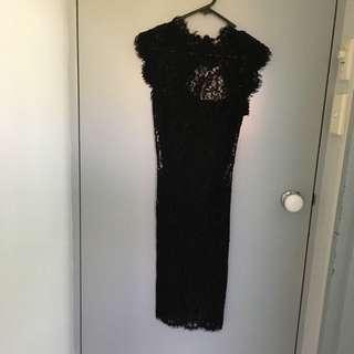 Allannah Hill Laced Dress