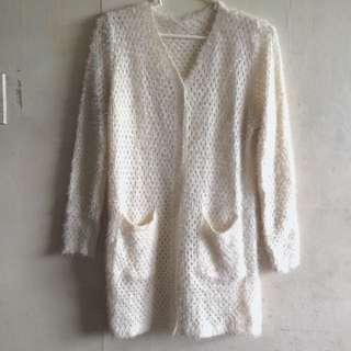 Super Soft And Comfy Cream Pullover / Sweater