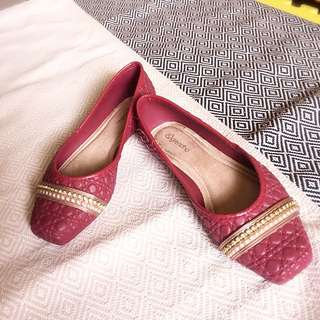 平底鞋(防水材質、內部軟墊)