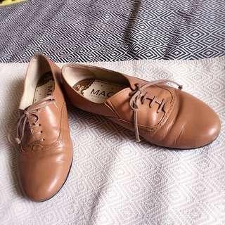 平底牛津鞋