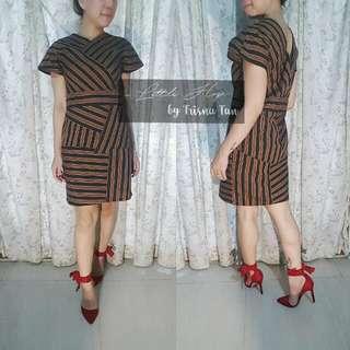 Custom Order Dress Origami Lurik