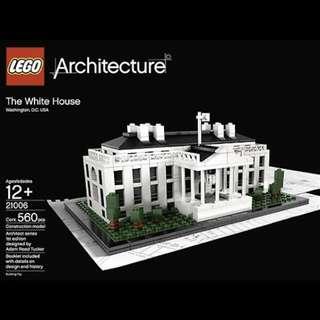 (出租)樂高 LEGO 21006 美國白宮