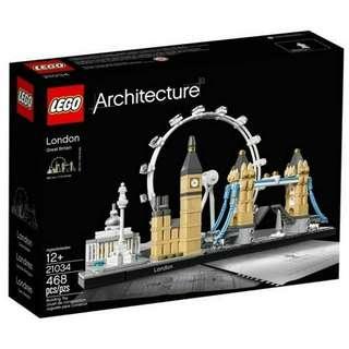 (出租)LEGO 樂高 21034 倫敦