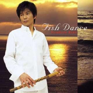 Fish Dance CD by Yasukazu Kano 狩野泰一 (Japanese Bamboo Flute Shinobue 篠笛)