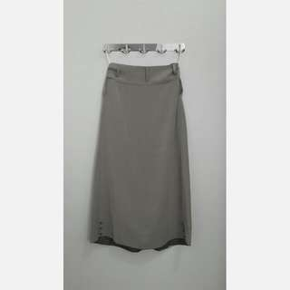 Ranti Light Gray Skirt