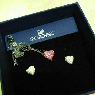Brand New Swarovski Necklaces And Earrings