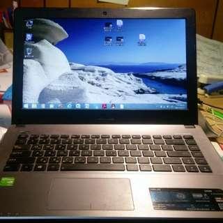 公司筆電 華碩筆電 I5-3230M 型號X450V