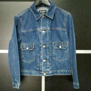 Polo Jeans Co. Ralph Lauren Classic Made Denim Blue Jean Trucker Jacket