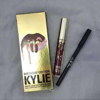 Kylie Lip Kit Birthday Edition in Leo