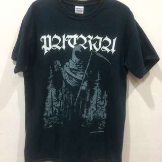patria black metal band shirt