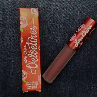 Lime Crime Velvetines in Fetish