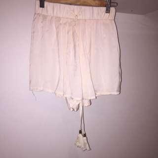 Sheer High Waisted Shorts