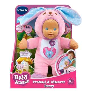 BNIB VTech Baby Amaze Pretend and Discover Bunny