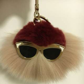 Brand New Furla Bubble Keyring Moonstone