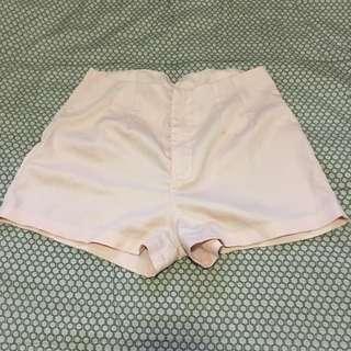 Maldita High Waist Shorts (Black Ship)