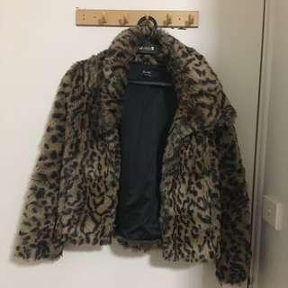 Bardot Leopard Print Jacket