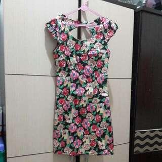 Flower Dress Fit To S . Bahan Karet *high Quality
