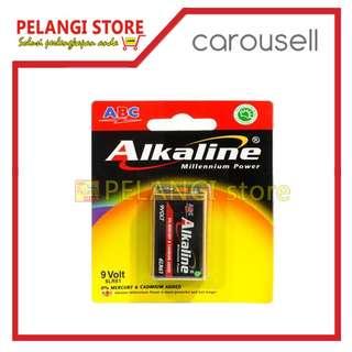 Baterai Alkaline Kotak 9 Volt