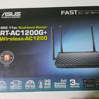Asus RT-AC 1200 G+ WIRELESS ROUTER