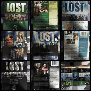 Lost Seasons 3-6