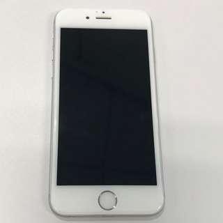 Iphone 6 Warna Silver, 64 GB, 99% mulus no cacat
