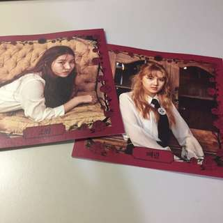 [WTS] GFRIEND THE AWAKENING POSTCARDS OFFICIAL