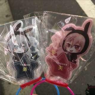 Idolish7 Cushion Prize Badge - Tenn, Gaku