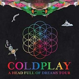 Ticket Coldplay