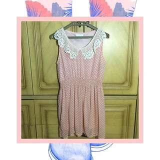 Peachy 60's Mini Dress 👒