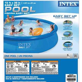15ft x 36 Inch Intex Easy Set Swimming Pool