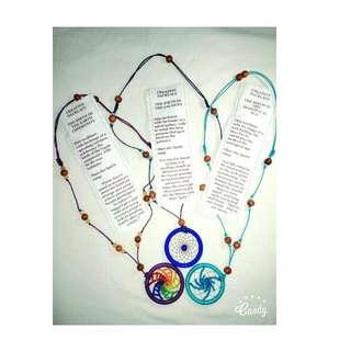 Mandala Dream Catcher Necklace