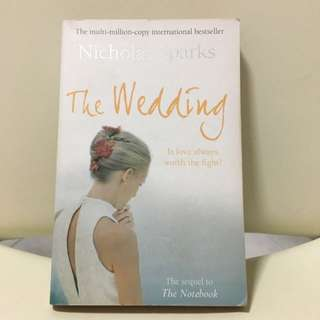 Novel: The Wedding. By Nicholas Sparks