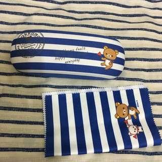 拉拉熊眼鏡盒 日本帶回