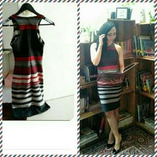 Stripe Bodycon