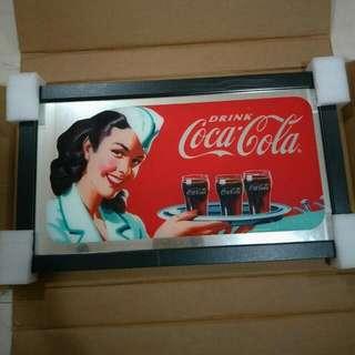 Coca Cola Vintage Mirror Frame