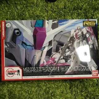 Gundam Front RG Zeta Gundam 3 Ver. GFT Limited Colour
