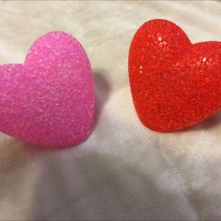 2 glowing hearts! *zoom out* *description*