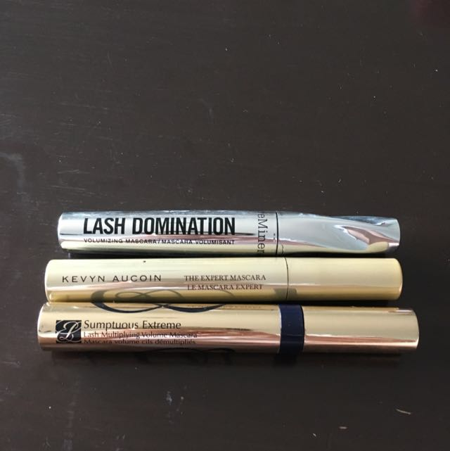 3x High End Mascaras
