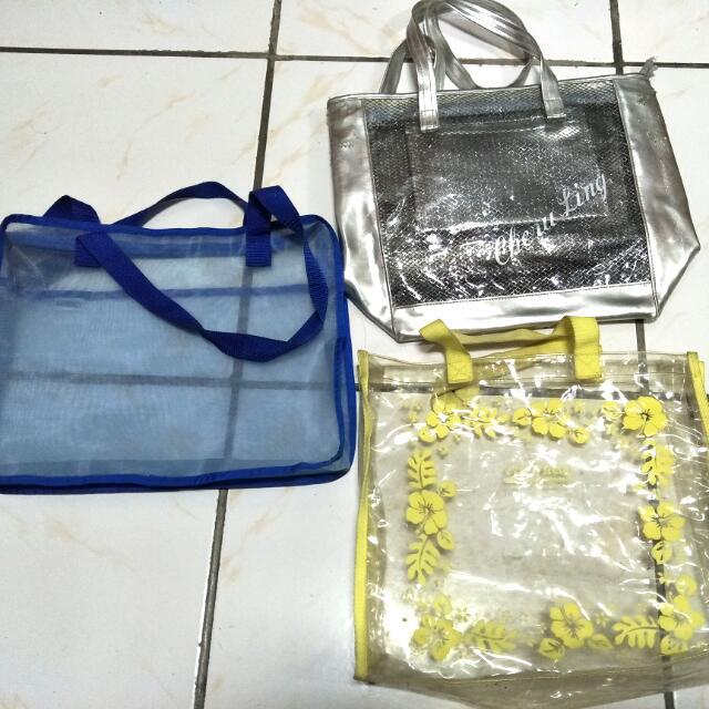 透明袋3個全帶走50元